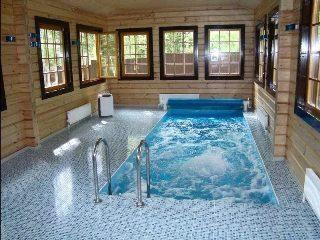 Строительство бани с бассейном в Самаре