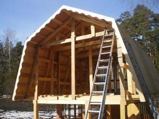 Строительство бань с мансардой в Самаре
