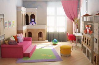 Фото варианты Дизайн детской комнаты в Самаре