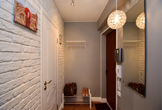 Дизайн коридора в Самаре
