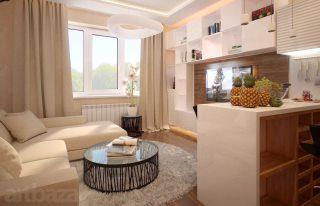 Дизайн трёхкомнатной квартиры в Самаре