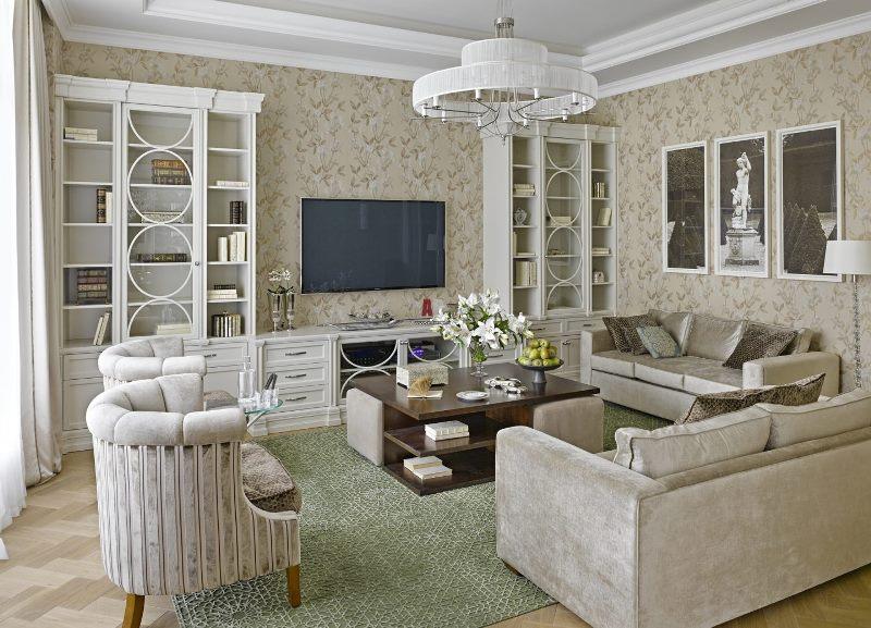 Дизайн интерьера квартиры в стиле Неоклассицизма