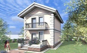 Проекты домов 12 на 12 из газобетона Самара