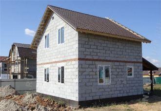 Проекты домов 6х8 из газобетона Самара