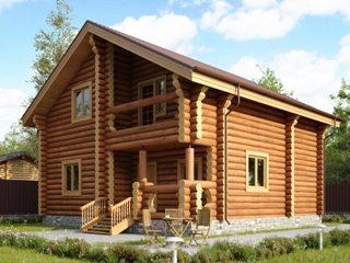 Проекты домов из бревна в Самаре