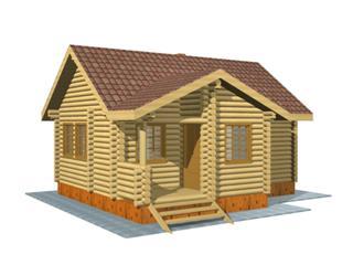 Проекты двухэтажных домов из бревна в Самаре