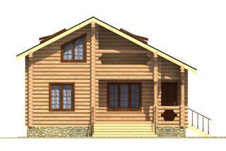 Проекты домов из бревна 5х7 в Самаре