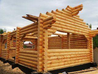 Проекты домов 6х8 из оцилиндрованного бревна в Самаре