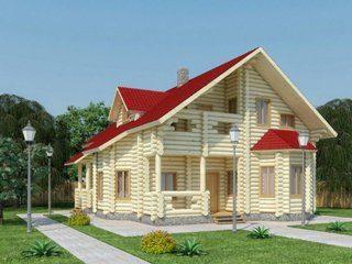 Проекты домов 11х11 из оцилиндрованного бревна в Самаре