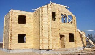 Проекты двухэтажных домов из бруса