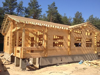 Проекты домов из бруса 7x7