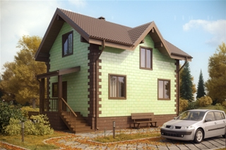 Проекты домов из кирпича 6х7 в Самаре
