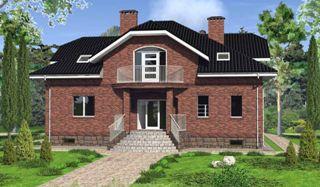 Проекты домов из кирпича 6х8 в Самаре