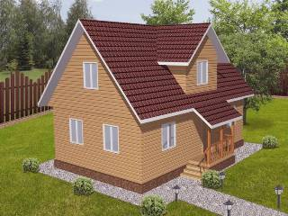 Проекты домов из кирпича 6х9 в Самаре