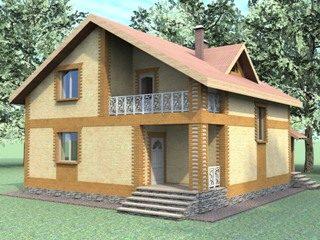 Проекты домов из кирпича 7х8 в Самаре
