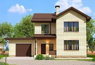 Проекты домов из кирпича 7х10 в Самаре