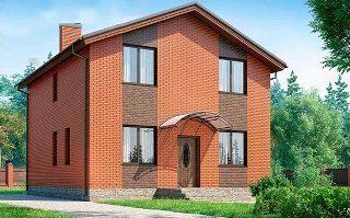 Проекты домов из кирпича 8х8 в Самаре