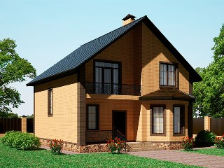 Проекты домов из кирпича 8х9 в Самаре