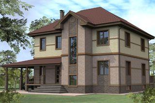 Проекты домов из кирпича 8х10 в Самаре
