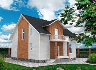 Проекты домов из кирпича 9х9 в Самаре