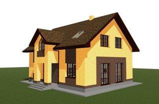 Проекты домов из кирпича 9х12 в Самаре
