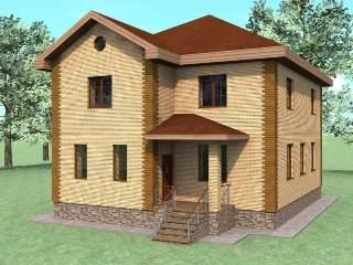 Проекты домов из кирпича 10х10 в Самаре