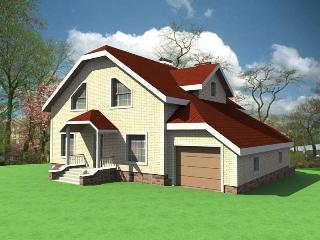 Проекты домов из кирпича 10х12 в Самаре