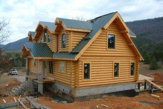 Строительство рубленых домов в Самаре под ключ