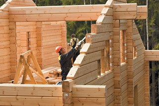 Строительство деревянных домов в русском стиле в Самаре под ключ