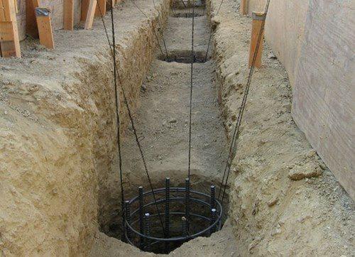 Фундамент из буронабивных свай в Самаре