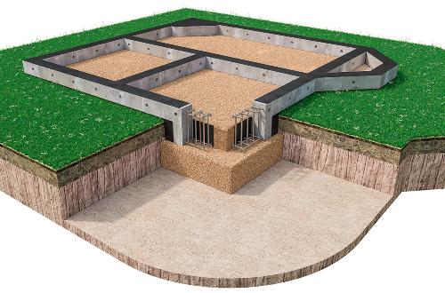 Мелкозаглубленный фундамент в Самаре