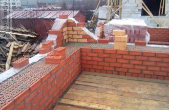 Строительство гаража из кирпича в Самаре
