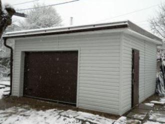 Построим быстровозводимый гараж под ключ