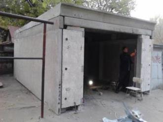 Строительство гаража из бетона в Самаре