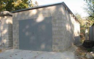 Строительство гаража из пеноблоков в Самаре