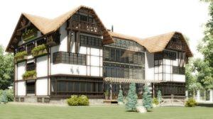 Строительство элитных загородных домов в Самаре