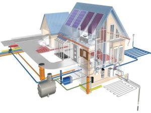 Инженерные коммуникации в доме в Самаре
