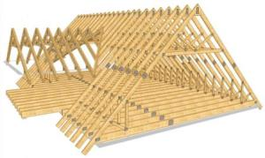 Строительство крыши дома в Самаре