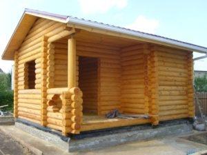 Строительство бань под ключ в Самаре