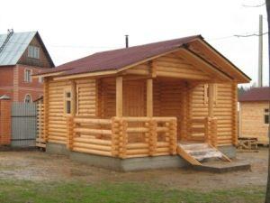 Строительство деревянных бань под ключ в Самаре