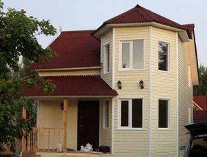 Каркасный зимний дом под ключ в Самаре
