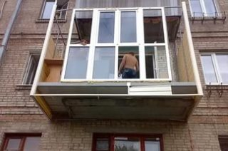 Ремонт балкона под ключ в Самаре