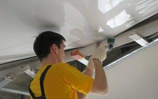 Фото процесса Монтаж подвесных потолков в Самаре