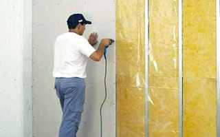 Фото процесса Шумоизоляция стен в квартире в Самаре