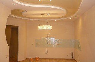 Фото процесса Обшивка потолка квартиры в Самаре