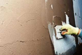Фото процесса Штукатурка стен в Самаре