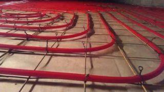 Фото процесса Монтаж теплого пола в Самаре