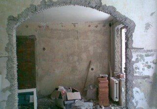 Фото процесса Перепланировка стен в Самаре