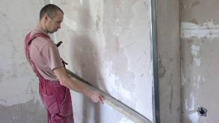 Фото процесса Выравнивание стен в Самаре
