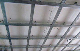 Монтаж потолка из гипсокартона в Самаре
